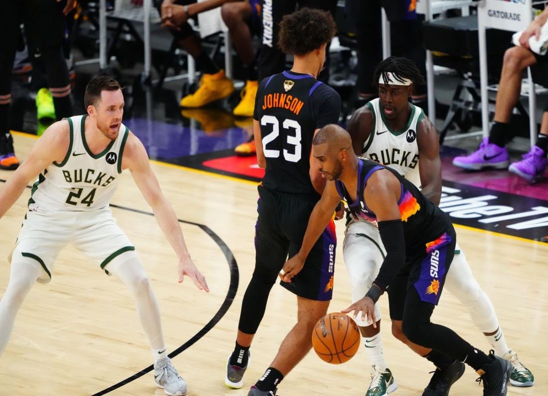 NBA Finals: Οι «ήλιοι» καίνε από… μακριά!